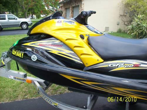 Yahama Jet Ski For Sale 2007 Yamaha Gp1300r Mint Trailer And