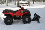 Stevie-Ray's 2016 Polaris Sportsman 570