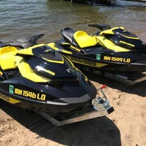 Shore Ramp PWC-50 with SeaDoo GTR-215