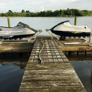 Custom Shore Ramp Installation on Dock